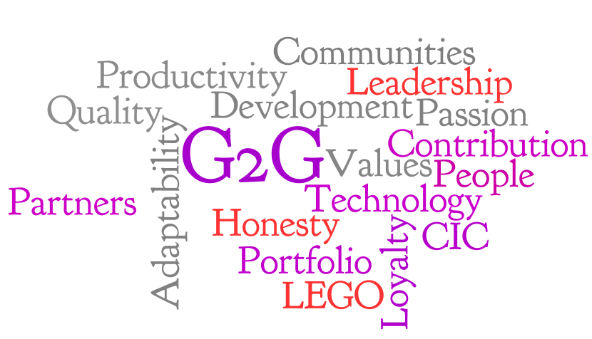 G2G Corporate Values
