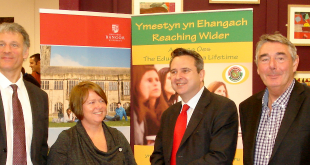 Education Minister Huw Lewis