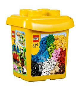 Lego 10662 Bricks & More Creative Bucket 607 Pieces