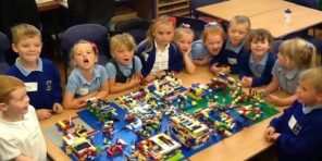 LEGO Family Learning at Sealand Primary School