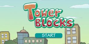 Tower Blocks - School Game