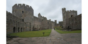 Caernarfon castle, cadw