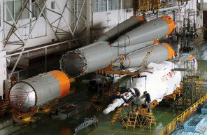 Horizontal Rocket Assembly