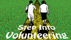 Step into volunteering