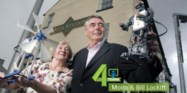 Moira & Bill Lockitt 4 Years Bee & Station