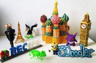 3D Printer Pen Creations