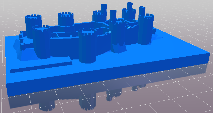 3D Conwy Castle