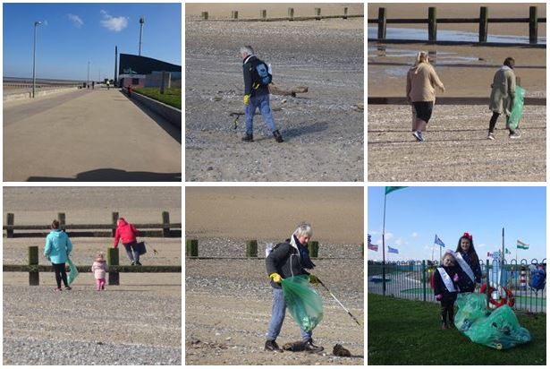 Rhyl a Better Life Litter Cleanup