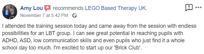 Lego Therapy Amy Lou