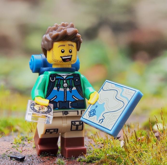 LEGO Hiking