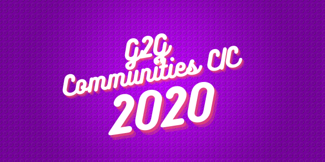 G2G Communities Impact & Achievements 2020